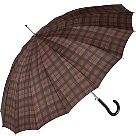 16 Panel Auto Fashion Stick - Coffee Plaid Coffee Plaid