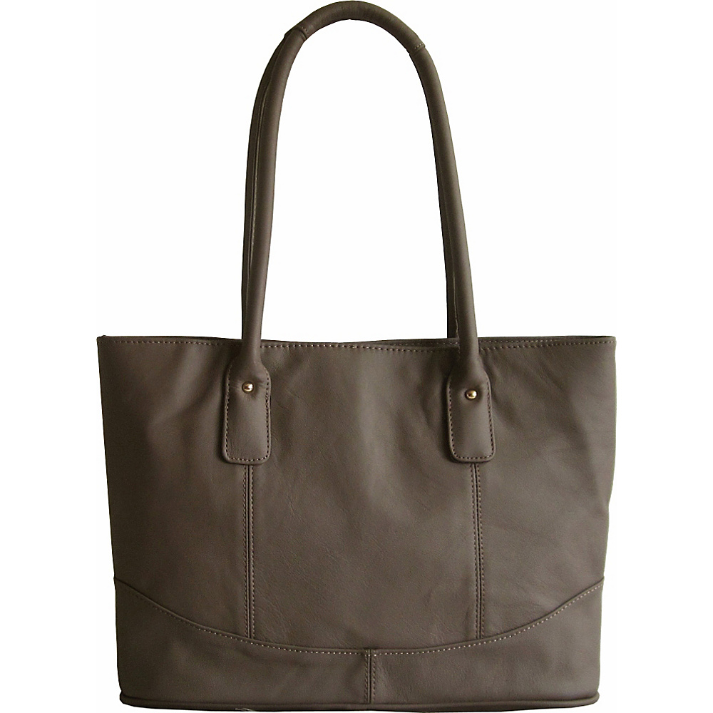 AmeriLeather Casual Leather Tote Java - AmeriLeather Leather Handbags - Handbags, Leather Handbags