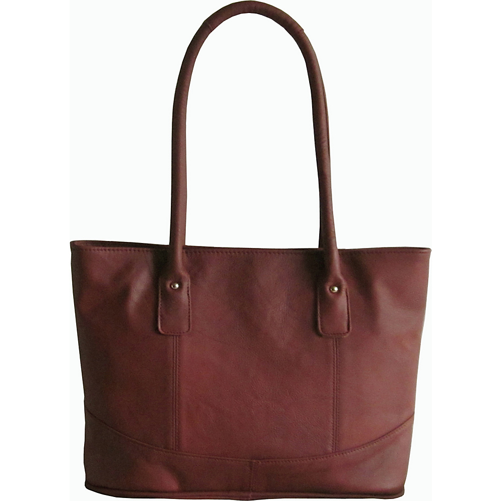 AmeriLeather Casual Leather Tote Brown - AmeriLeather Leather Handbags - Handbags, Leather Handbags