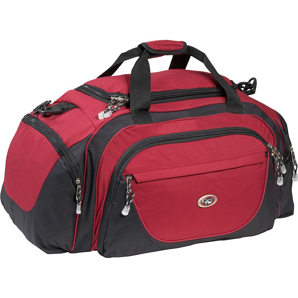 CalPak Riviera 27 Duffle Bag Red - CalPak All Purpose Duffels