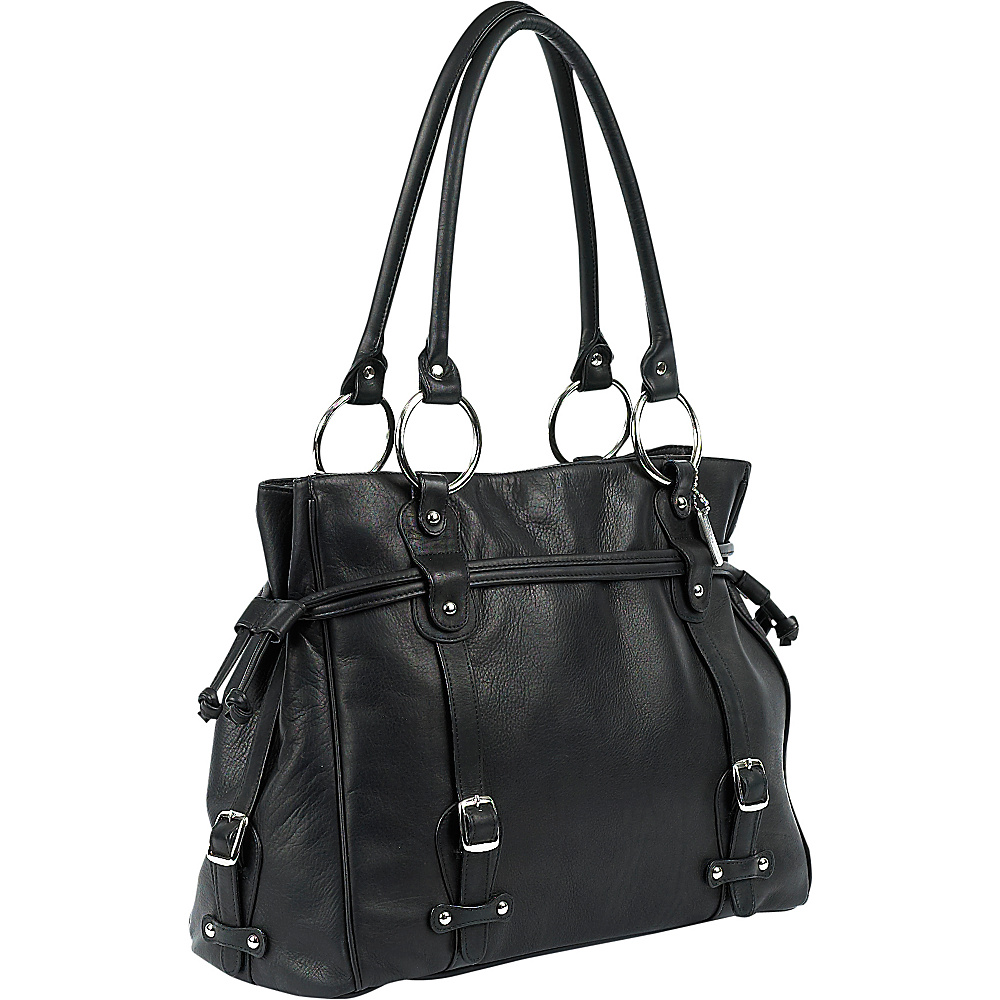 ClaireChase Catalina Laptop Handbag - Black