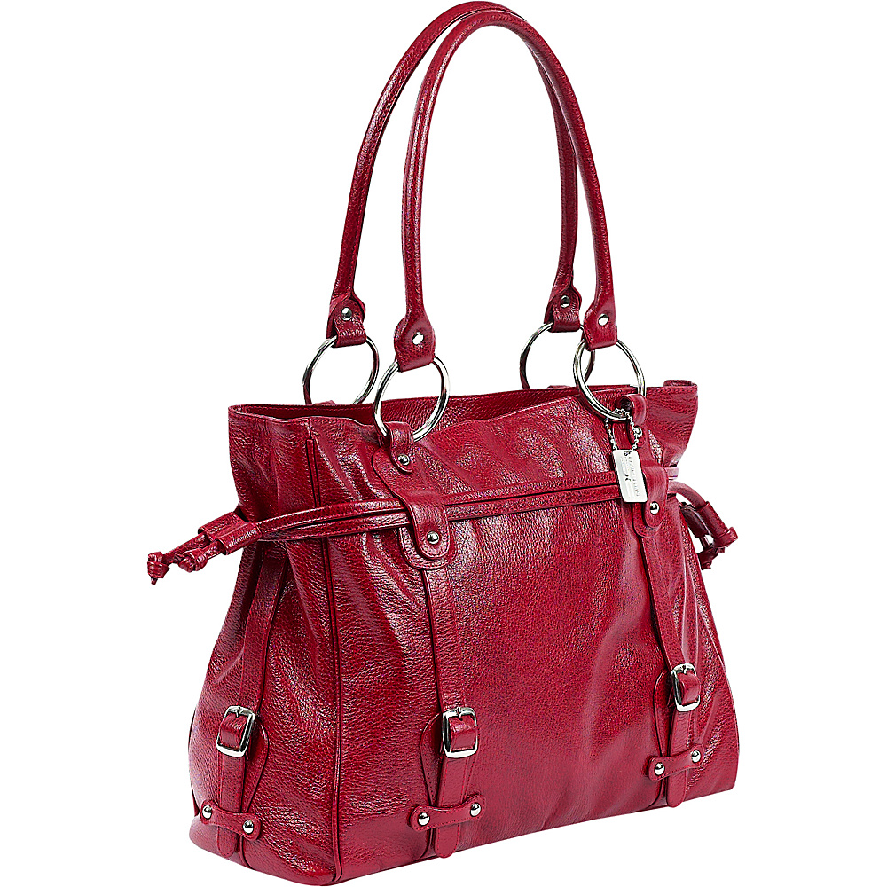 ClaireChase Catalina Laptop Handbag - Red