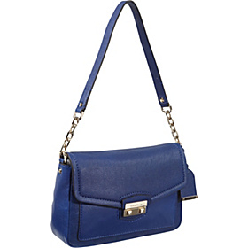 Zoe Small Shoulder Bag Cobalt