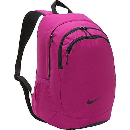 Nike Team Training Backpack For Her Rave Pink/Black/(Black) - Nike School & Day Hiking Backpacks