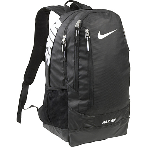 Nike Team Training Max Air XL Backpack Black/Black/(White) - Nike School & Day Hiking Backpacks