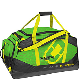 Dozer 8600 Gear Bag Green Hive