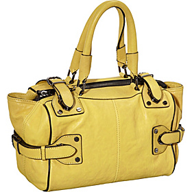 Hold Tight Satchel  Lemongrass