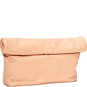 Annette Clutch With Removable Strap Peach