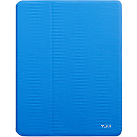 Leather Snap Case for new iPad  French Blue