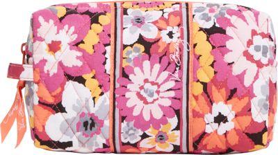 Vera Bradley Medium Cosmetic Pixie Blooms - Vera Bradley Ladies Cosmetic Bags