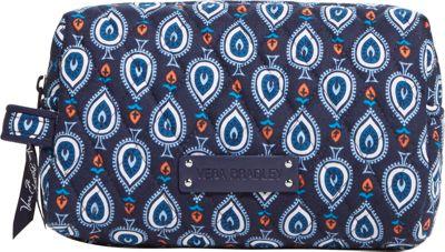 Vera Bradley Medium Cosmetic Marrakesh Motifs - Vera Bradley Ladies Cosmetic Bags