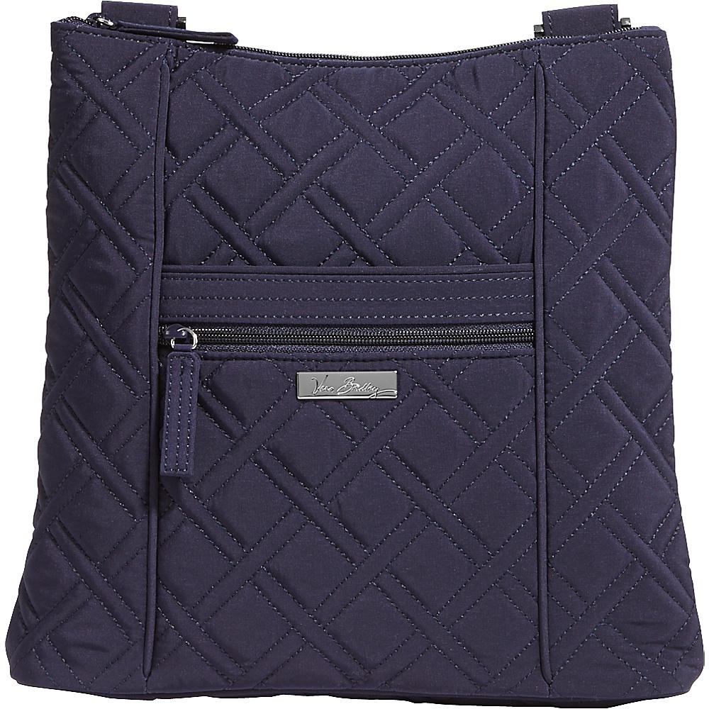 Vera Bradley Hipster Crossbody Solids Classic Navy Vera Bradley Fabric Handbags