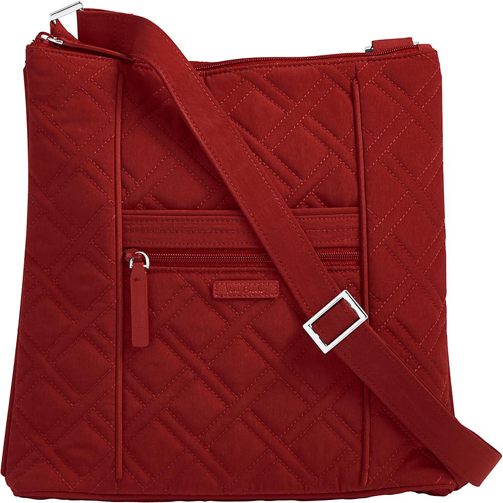 Vera Bradley Hipster Crossbody - Solids Cardinal Red - Vera Bradley Fabric Handbags - Handbags, Fabric Handbags