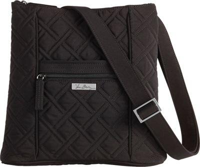 Vera Bradley Hipster Crossbody - Solids Black - Vera Bradley Fabric Handbags