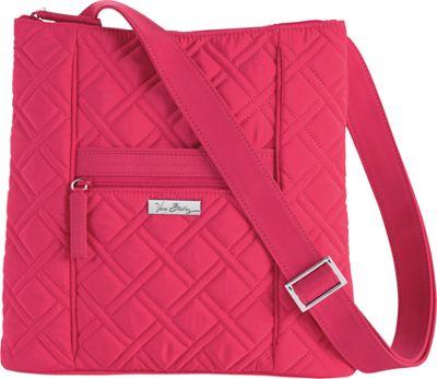 Vera Bradley Hipster Crossbody - Solids Geranium - Vera Bradley Fabric Handbags