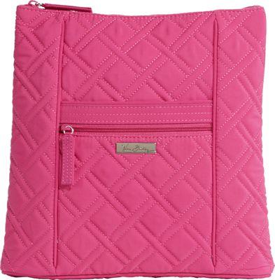 Vera Bradley Hipster Crossbody - Solids Deep Pink - Vera Bradley Fabric Handbags