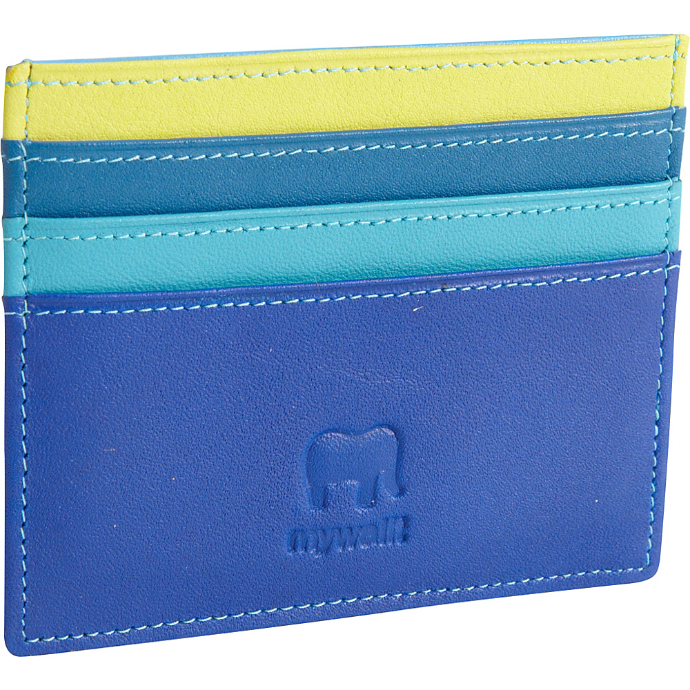 MyWalit Small Credit Card Holder Seascape MyWalit Women s Wallets