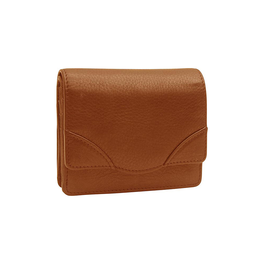 TUSK LTD Donington Napa French Clutch Wood TUSK LTD Women s Wallets