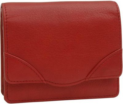 TUSK LTD Donington Napa French Clutch Red - TUSK LTD Women's Wallets