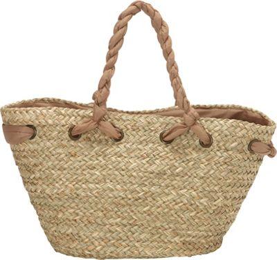 Sun 'N' Sand Hatteras Tote Tan - Sun 'N' Sand Straw Handbags