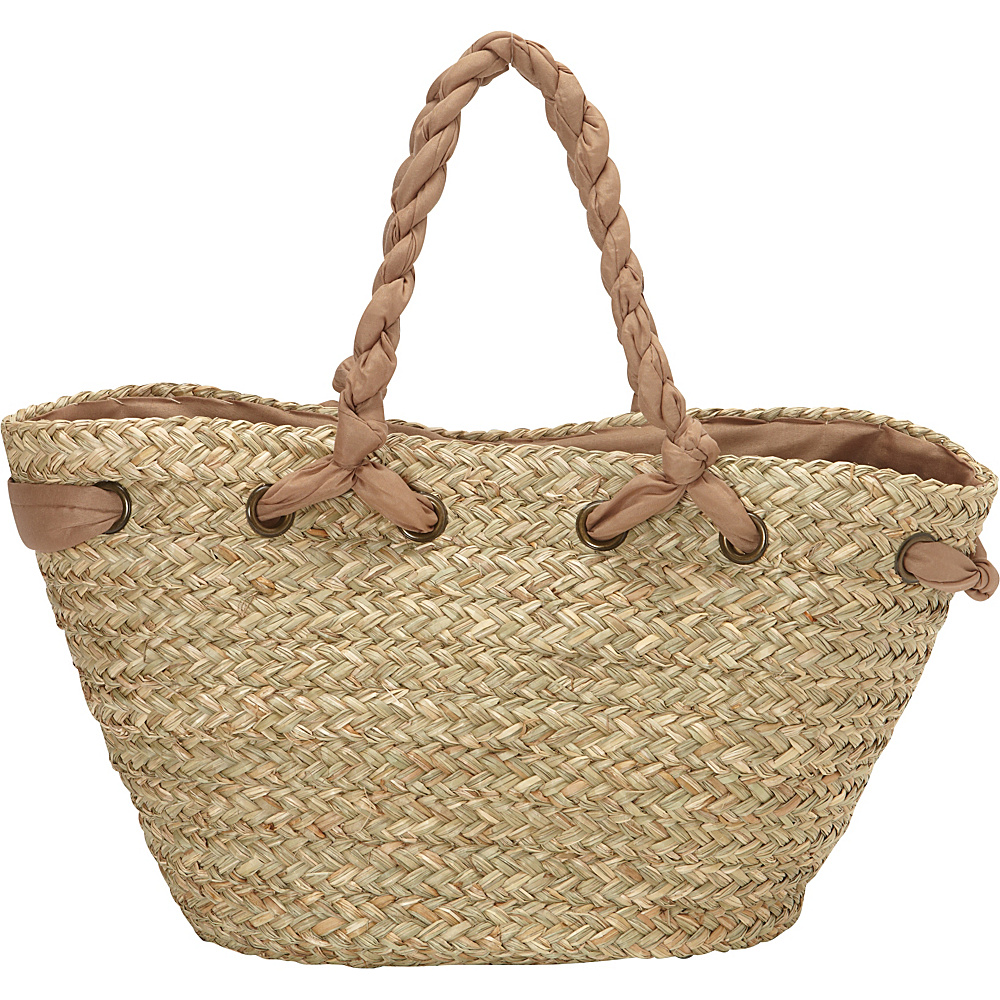 Sun N Sand Hatteras Tote Tan Sun N Sand Straw Handbags