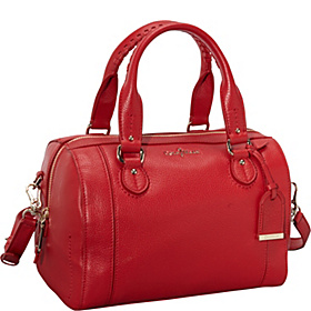 Linley Barrel Bag Tango Red