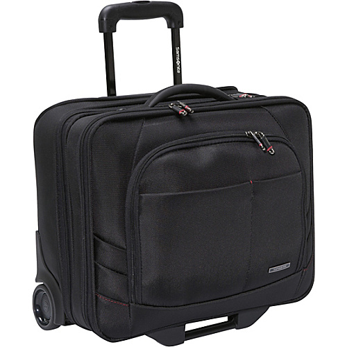 Samsonite Xenon 2 Mobile Office - PFT Black - Samsonite Wheeled Business Cases
