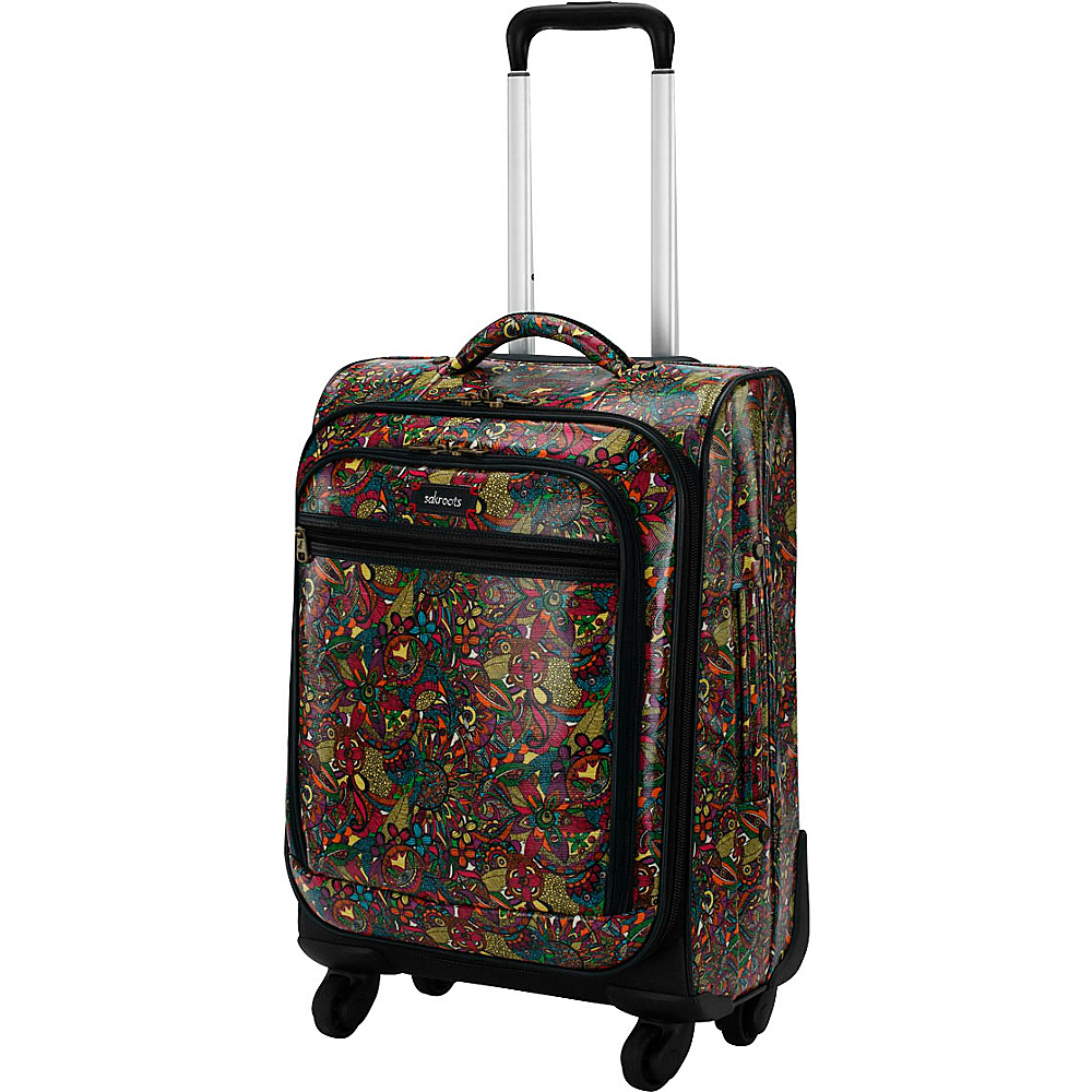 Sakroots Artist Circle Rolling Carry On Rainbow Spirit Desert - Sakroots Softside Carry-On - Luggage, Softside Carry-On