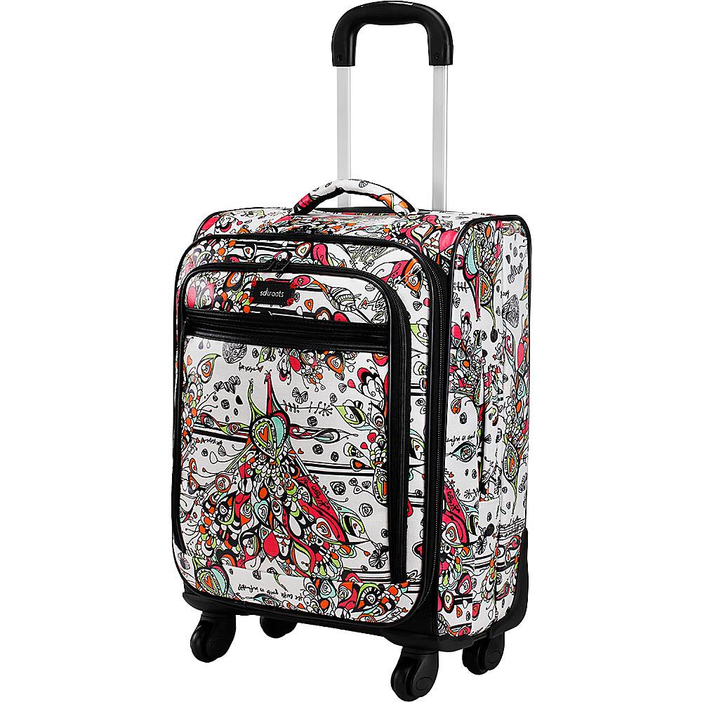 Sakroots Artist Circle Rolling Carry On Optic Songbird - Sakroots Softside Carry-On - Luggage, Softside Carry-On