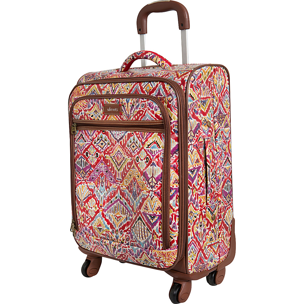 Sakroots Artist Circle Rolling Carry On Sweet Red Brave Beauti - Sakroots Softside Carry-On - Luggage, Softside Carry-On