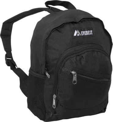 Everest Junior Slant Backpack Black - Everest Kids' Backpacks