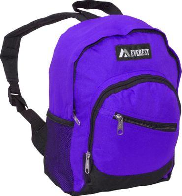 Everest Junior Slant Backpack Dark Purple / Black - Everest Kids' Backpacks