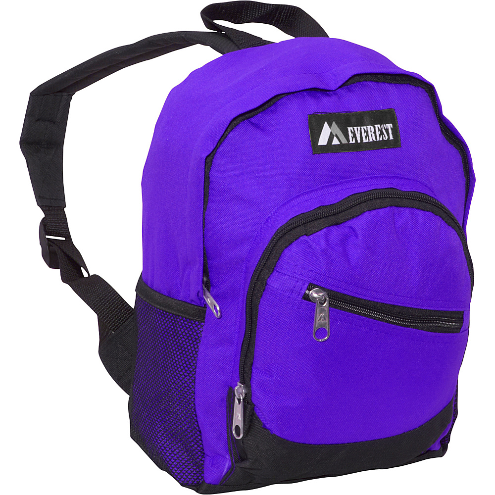 Everest Junior Slant Backpack Dark Purple / Black - Everest Kids Backpacks - Backpacks, Kids' Backpacks