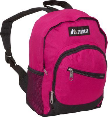Everest Junior Slant Backpack Hot Pink / Black - Everest Kids' Backpacks