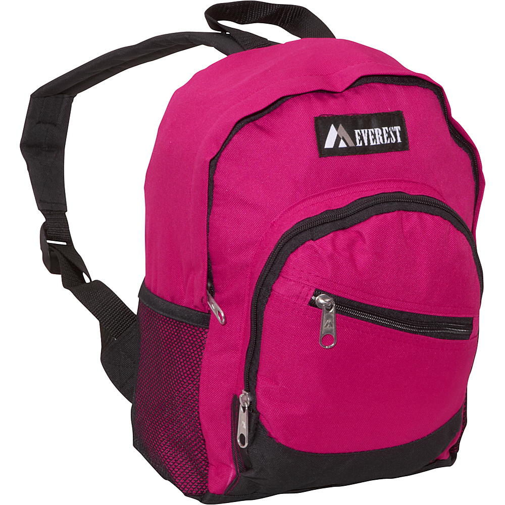 Everest Junior Slant Backpack Hot Pink / Black - Everest Kids Backpacks - Backpacks, Kids' Backpacks
