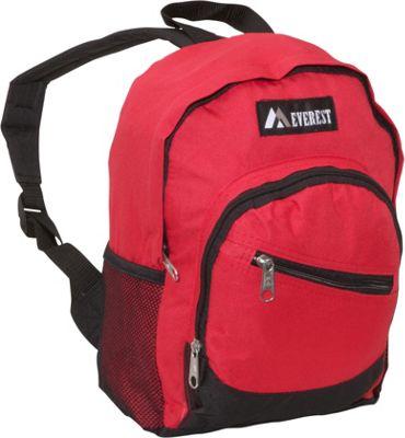 Everest Junior Slant Backpack Red/Black - Everest Kids' Backpacks