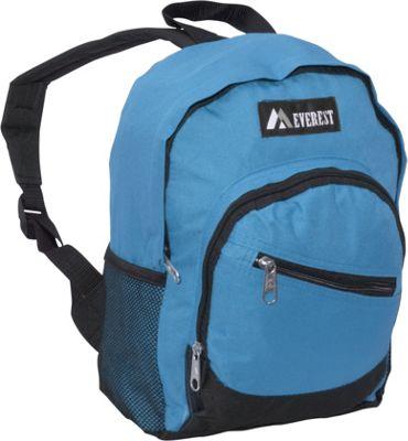 Everest Junior Slant Backpack Turquoise / Black - Everest Kids' Backpacks