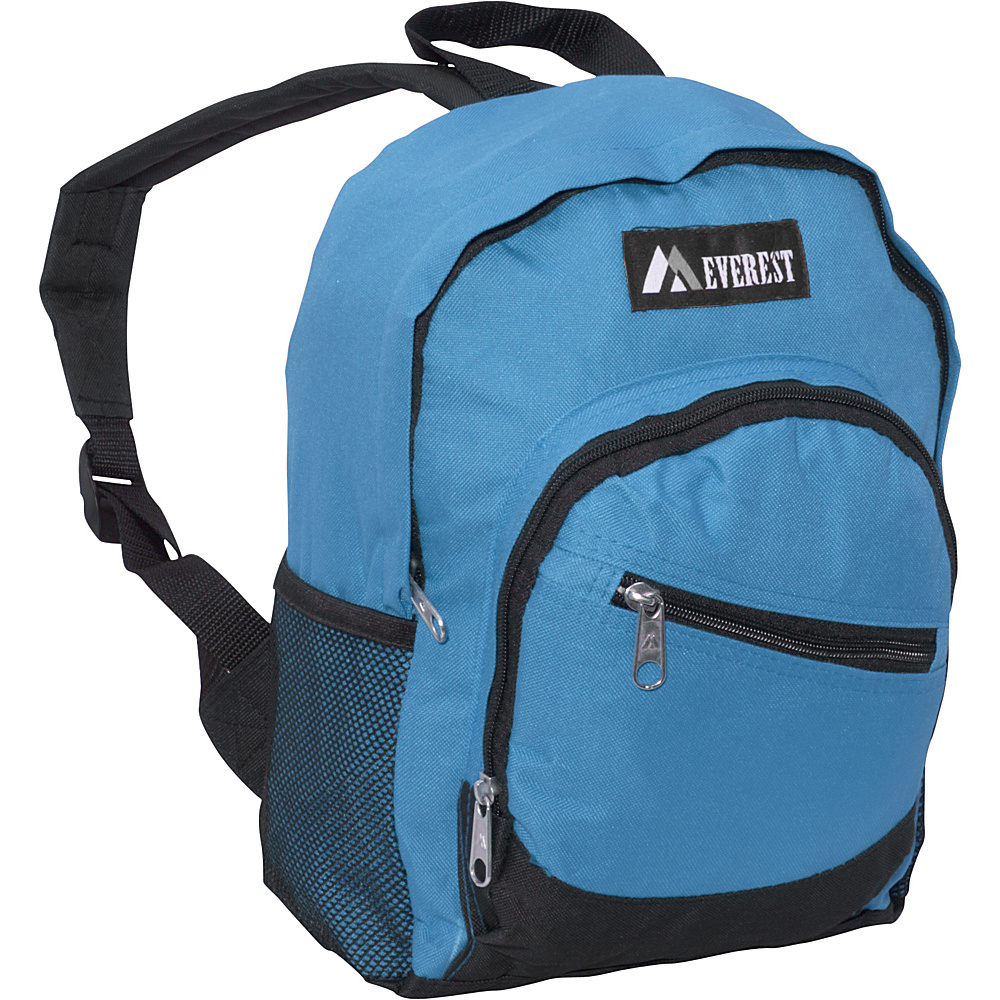 Everest Junior Slant Backpack Turquoise / Black - Everest Everyday Backpacks