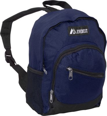 Everest Junior Slant Backpack Navy - Everest Kids' Backpacks