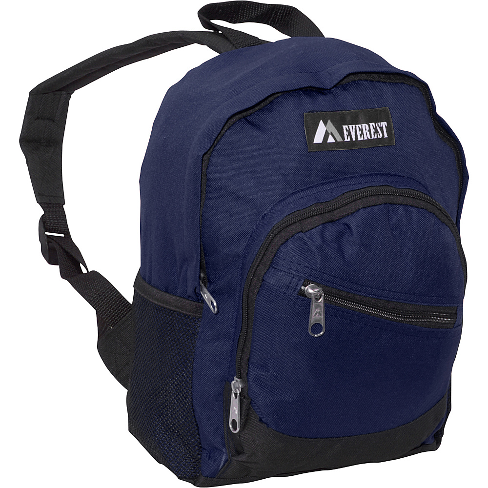 Everest Junior Slant Backpack Navy - Everest Everyday Backpacks