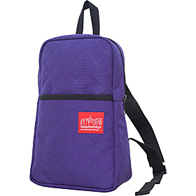 Quilted Ellis Backpack Purple