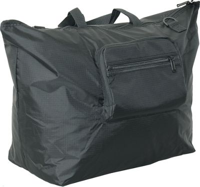 Netpack 23 inch U-zip lightweight tote Black - Netpack Packable Bags