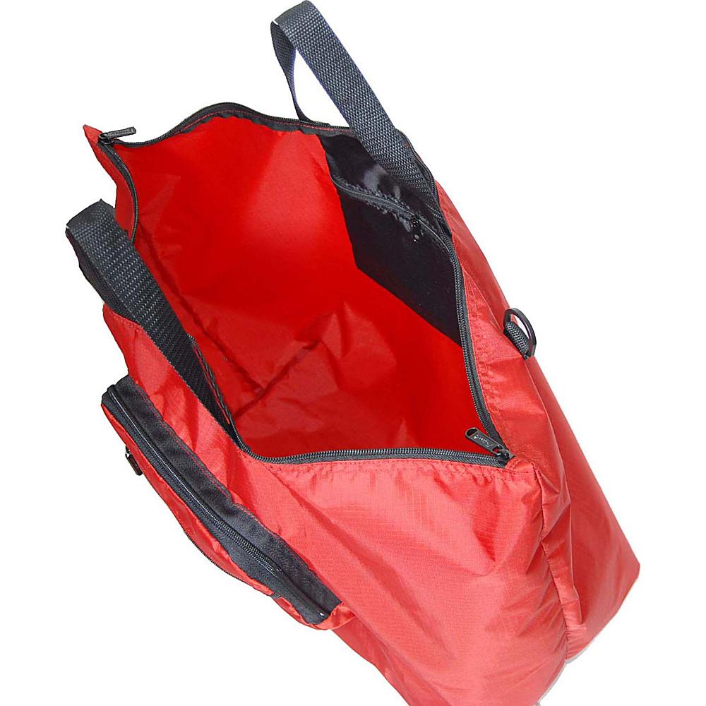"""Netpack 23"""" U-zip lightweight tote Black - Netpack Packable Bags"""