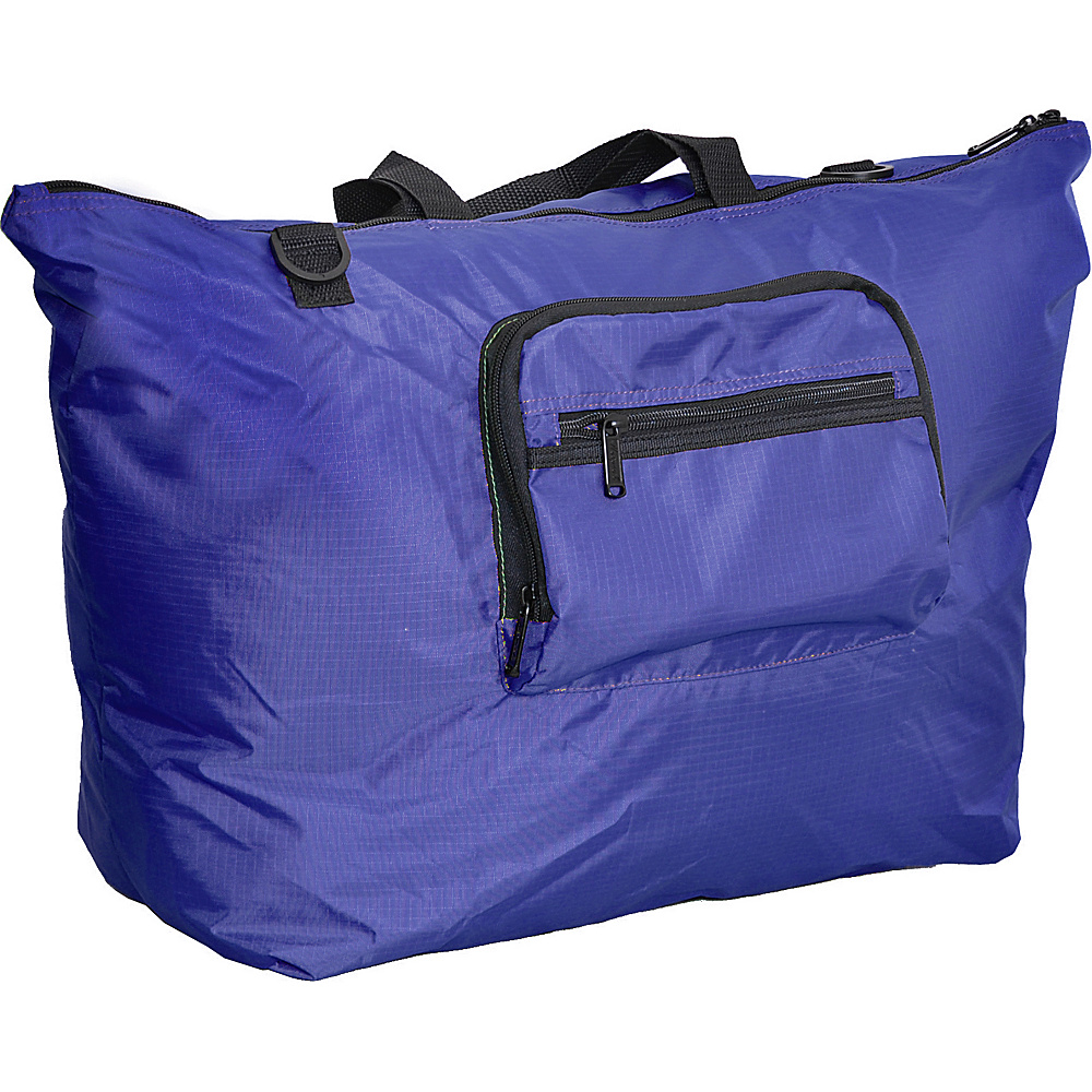 "Netpack 23"" U-zip lightweight tote Blue - Netpack Packable Bags"