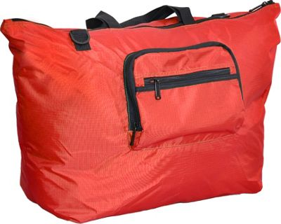 Netpack 23 inch U-zip lightweight tote Red - Netpack Packable Bags