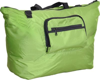 Netpack 23 inch U-zip lightweight tote Lime Green - Netpack Packable Bags