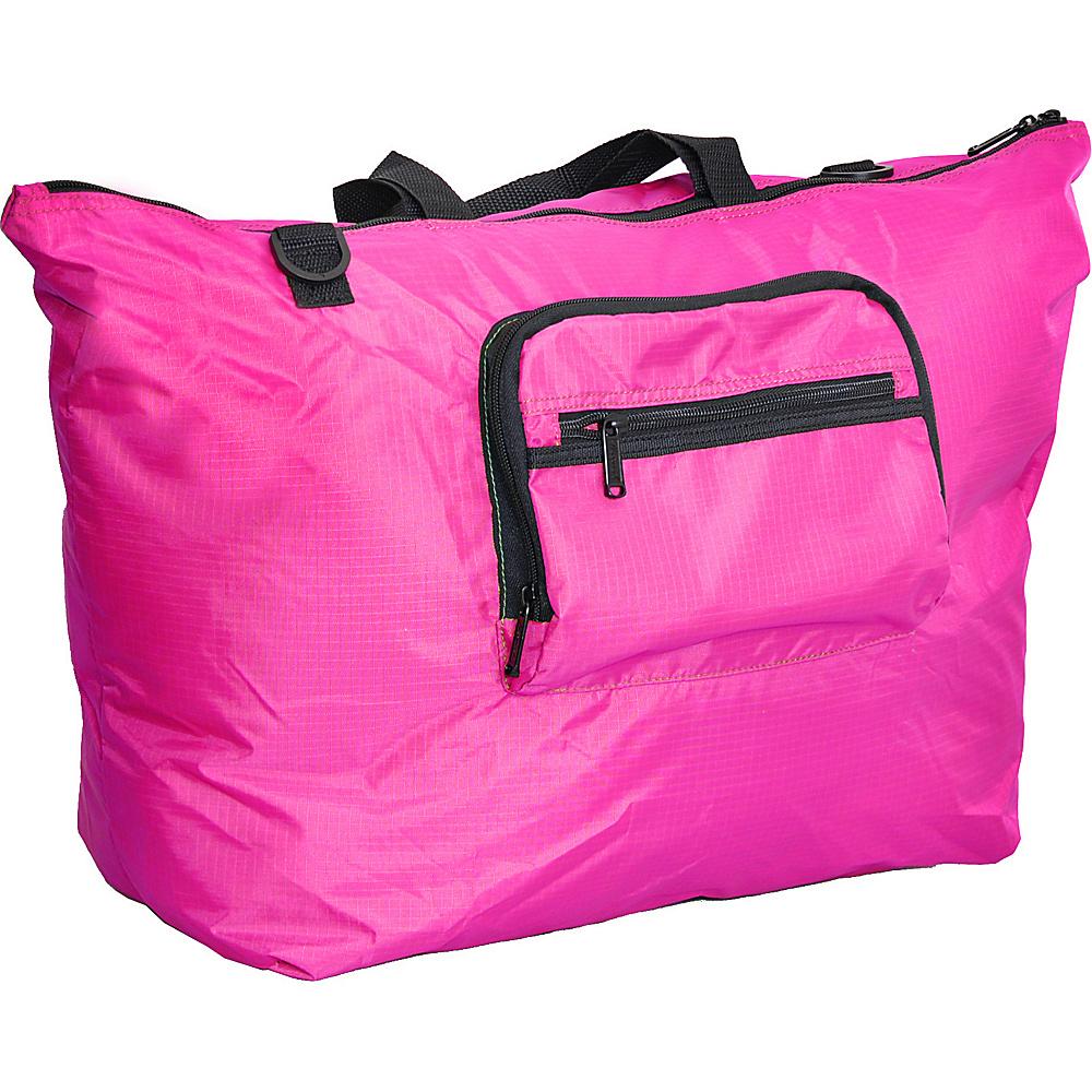 "Netpack 23"" U-zip lightweight tote Pink - Netpack Packable Bags"