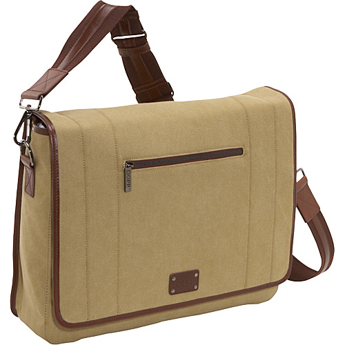 Dopp Gear Canvas Messenger (Tan)