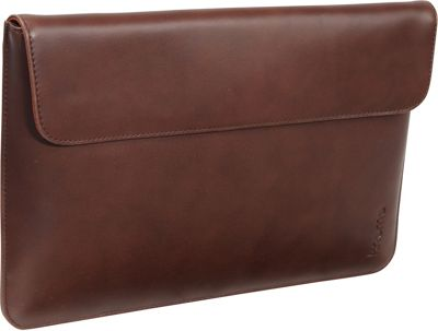 KNOMO London MacBook Air 11 inch Leather Envelope Brown - KNOMO London Electronic Cases
