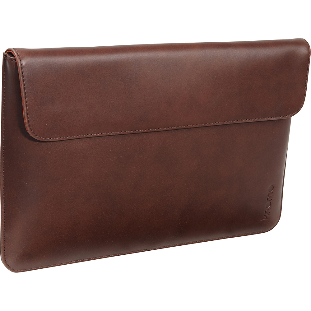 KNOMO London MacBook Air 11 Leather Envelope Brown KNOMO London Electronic Cases
